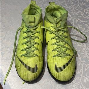Nike Mercurial kids indoor turf cleats size 1.5